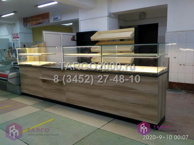 Торговое оборудование для пекарни в ТЦ Центральный