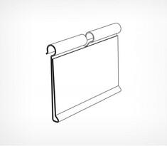 Ценникодержатель для крючков (от упаковки, по 200шт)